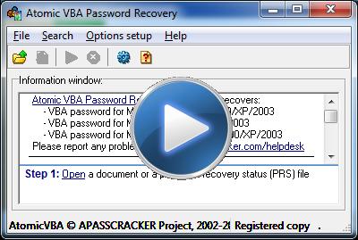 remove password excel vba