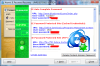 Internet Explorer and Content Adviser password recovery tool