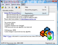 RAR Password Recovery : screenshot